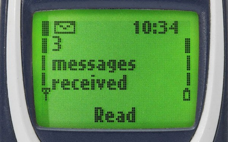 Nokia 3310 messages