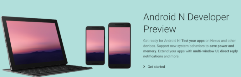 android developer preview