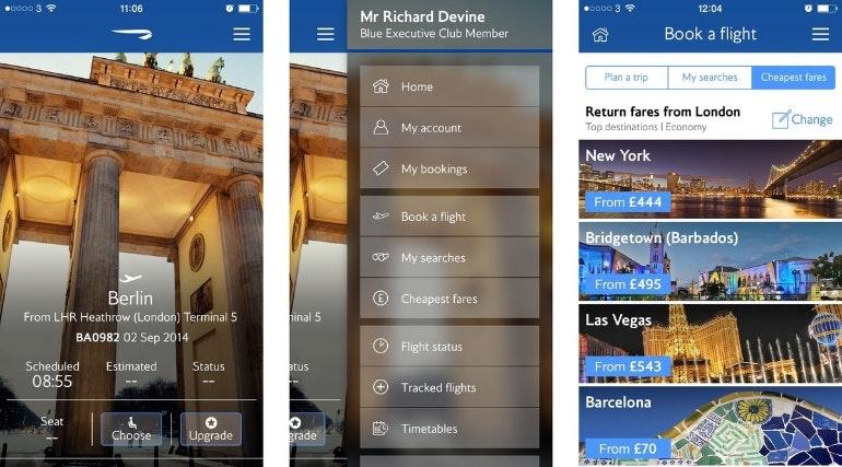 iphone app british airways