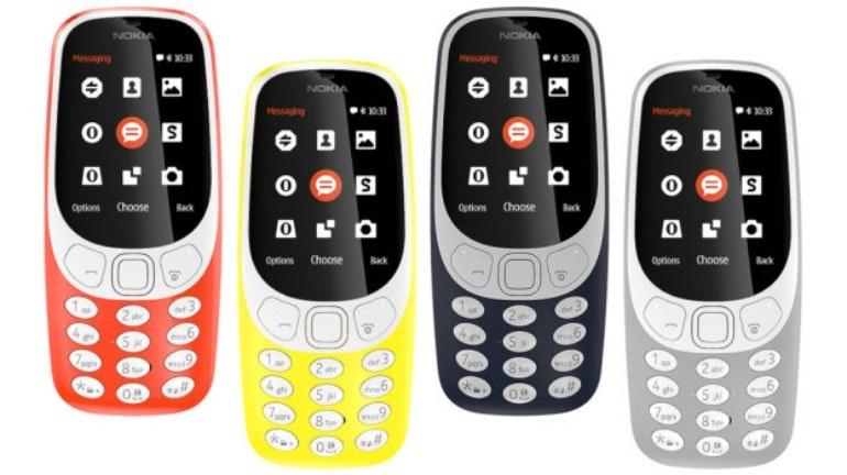 Nokia 3310 new homescreen no apps