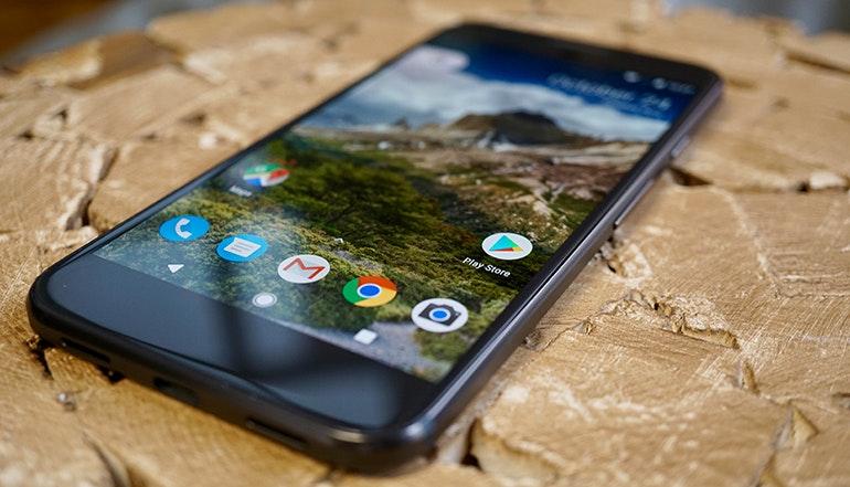 Google pixel resting front bottom