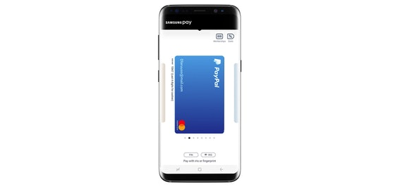 Samsung Pay gets PayPal support