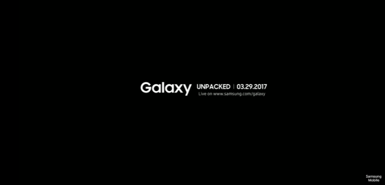Samsung Galaxy S8 date