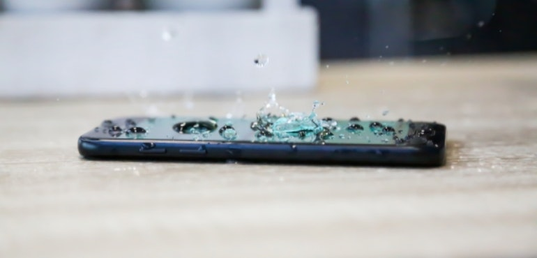 Waterproof phones hero