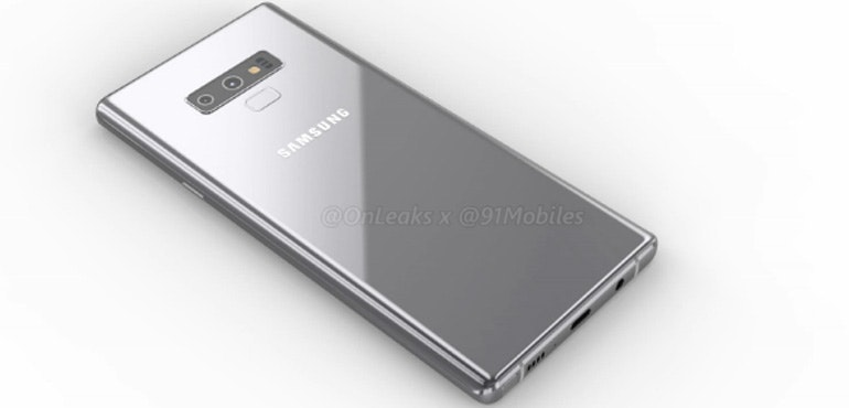 Samsung Galaxy Note 9 video and images show off dual camera