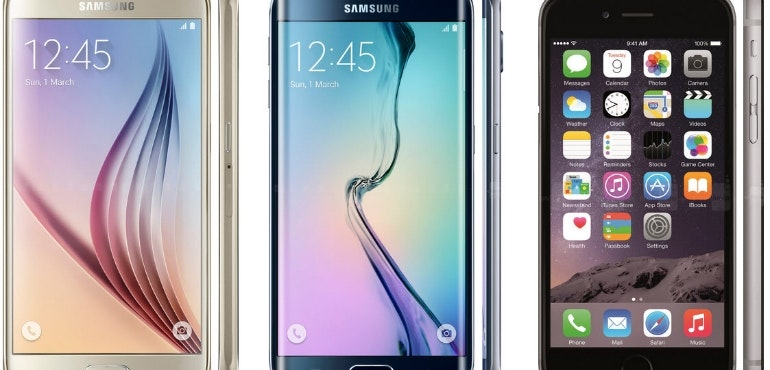 samsung galaxy s6 edge iphone 6s