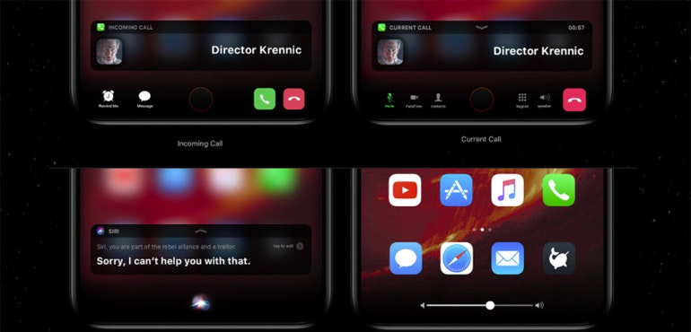 iPhone 8 new concept shows off plans for home bar
