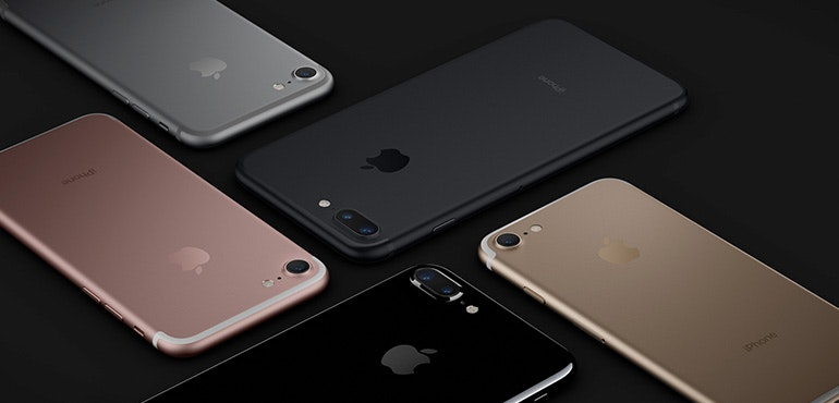 iPhone 7 and iPhone 7 Plus on sale on giffgaff