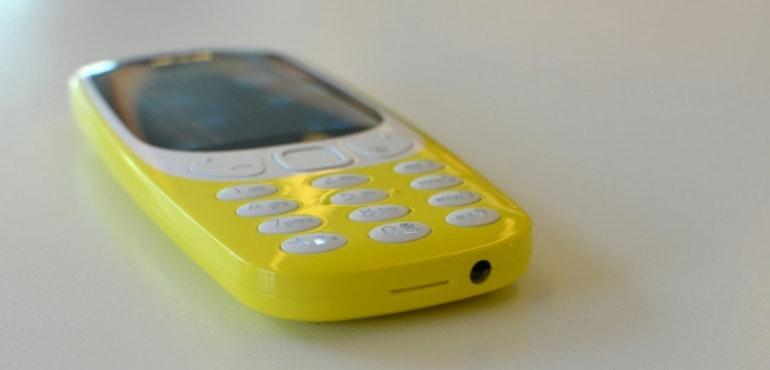 Nokia 3310 headphone jack