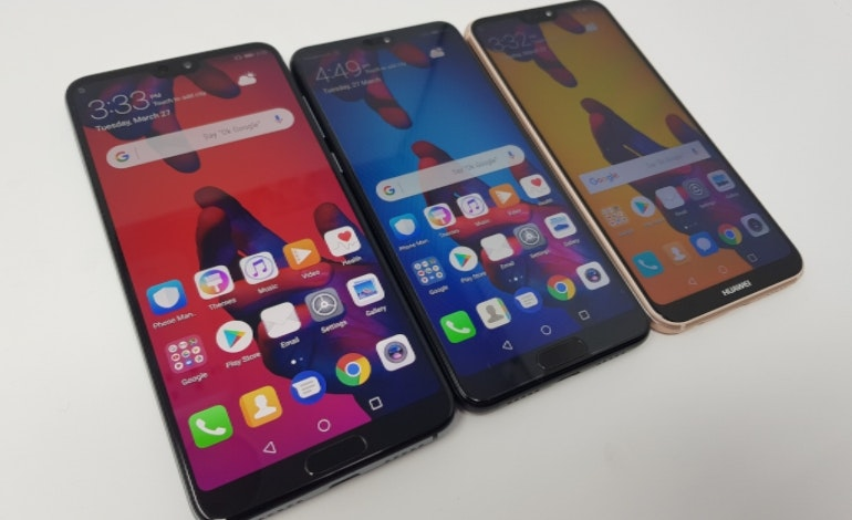 Huawei P20 family trio