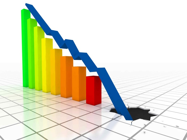 iphone sales down