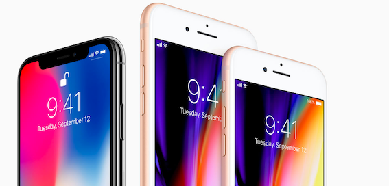 iPhone 8 and iPhone 8 Plus more popular than iPhone X, claims research