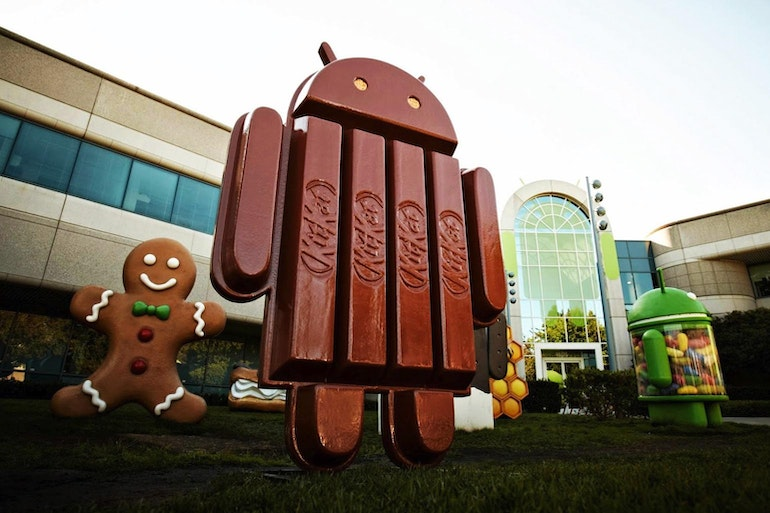 Android kitkat phone operating systems