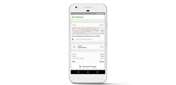 Pay with Google service goes live