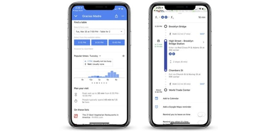 Google Maps for iPhone now includes restaurant waiting times
