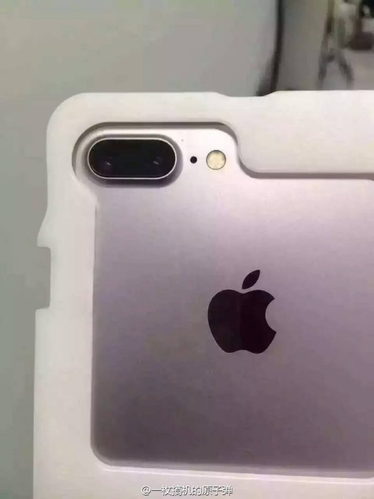 iPhone 7 Pro Plus rear leak