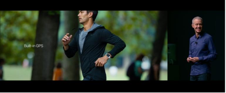 Apple Watch 2 running