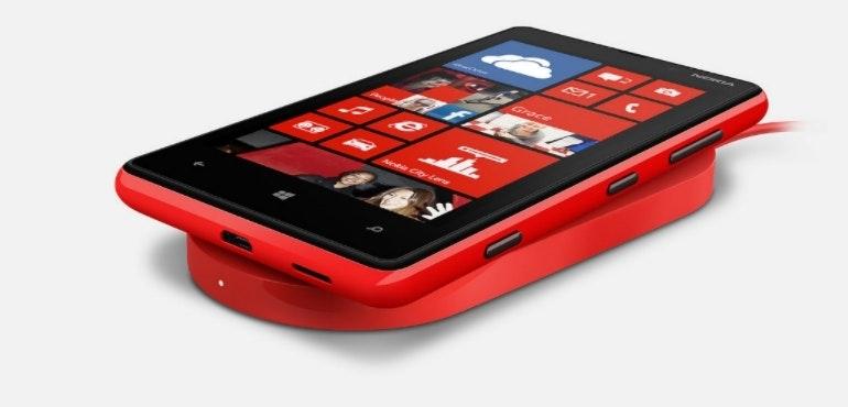 wireless charging windows lumia