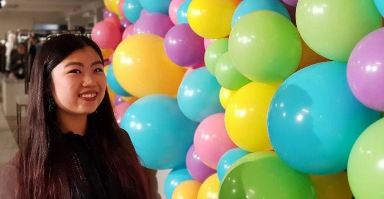Samsung Galaxy Note 8 camera sample  portrait mode balloons