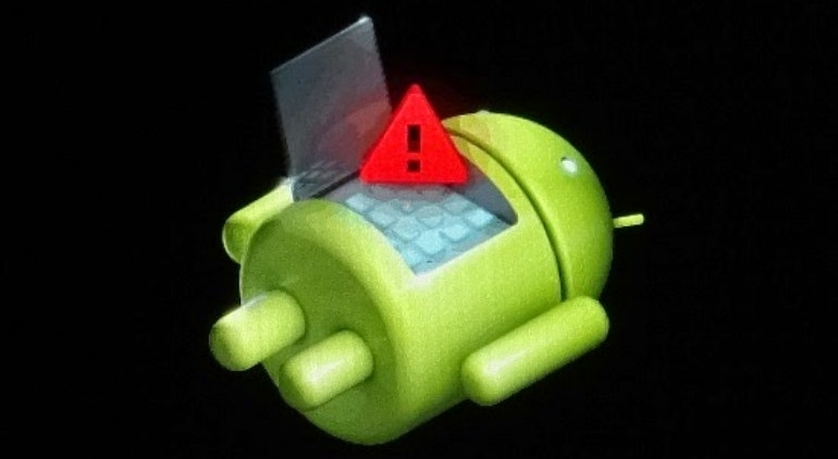 Android bot no command recovery mode broken phone