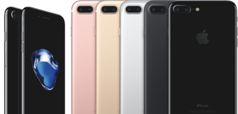 Apple iPhone 7 hero colours