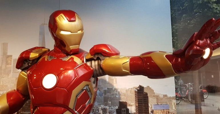 Samsung Galaxy Note 8 camera sample Iron Man