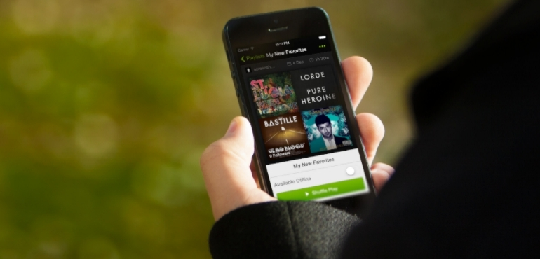 Spotify says Apple Music has helped boost business