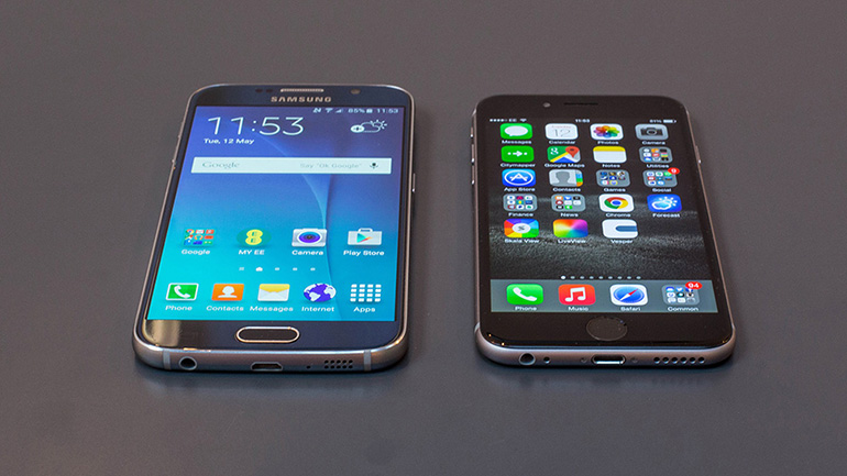 Apple iPhone 6 VS Samsung Galaxy S6 head to head review