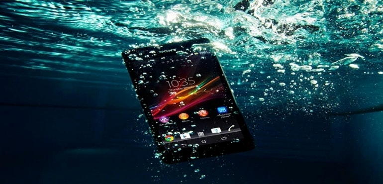 sony xperia z5 water