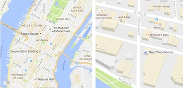 Google Maps now helps you find city hot spots