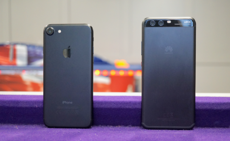 Huawei P10 vs iPhone 7