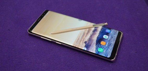 Samsung admits Galaxy Note 8 charging problems