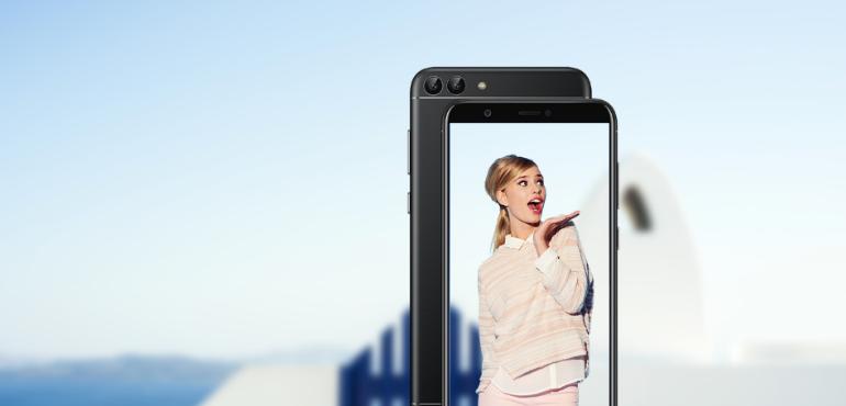 Huawei P smart hero size camera