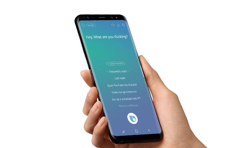 Samsung Galaxy Note 8 bixby 2