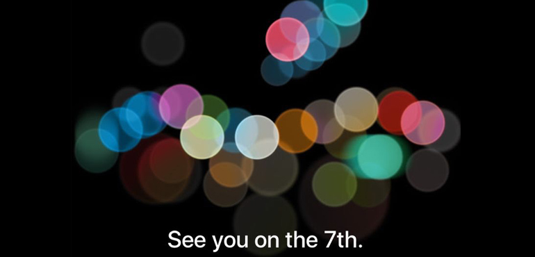 iPhone 7 to launch September 7th, Apple confirms