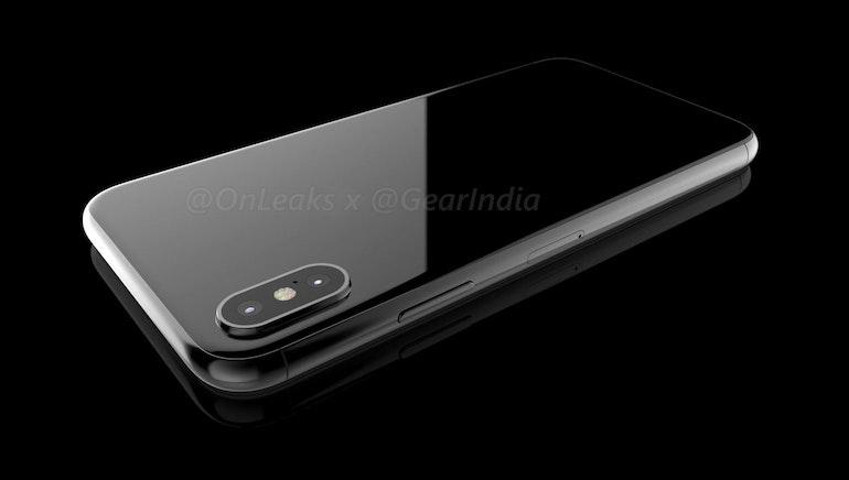 iphone 8 render onleaks back