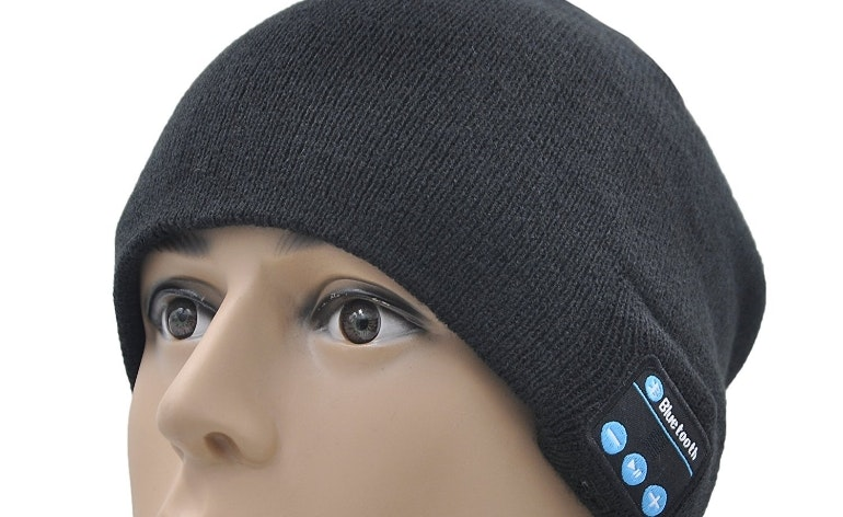 Bluetooth headphone hat