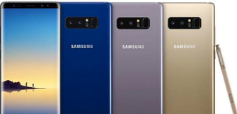 Samsung Galaxy Note 8 up for pre-order on O2
