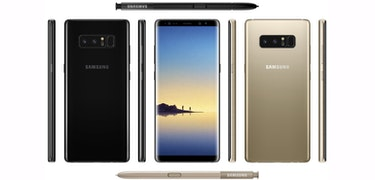 Official Samsung Galaxy Note 8 photos appear online