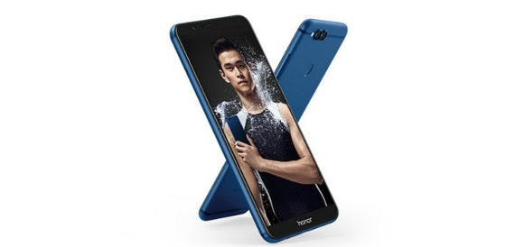 The Honor 7X is officially unveiled