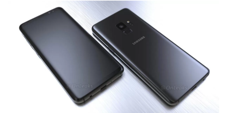 Samsung Galaxy S9 render leak rear