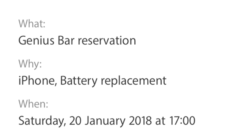 Iphone  Battery Replacement Cost Apple Store