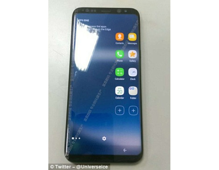 Samsung Galaxy S8 no home button