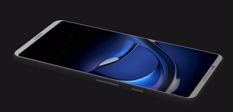 Huawei P11 concept screen