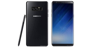 Samsung priming new Galaxy Note 8 colours