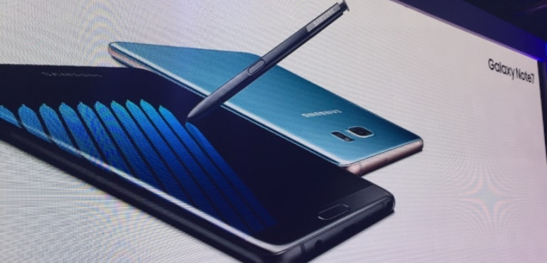 Samsung Galaxy Note 7 hero launch