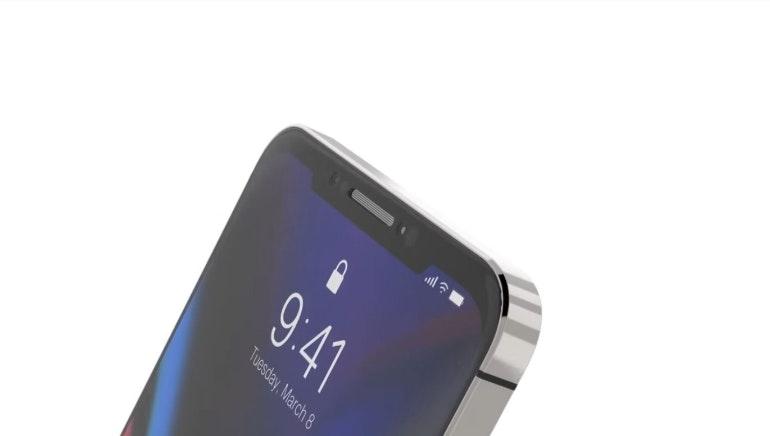 iphone se render 2 notch