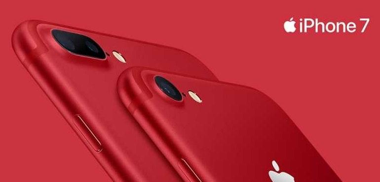 iphone 7 red hero
