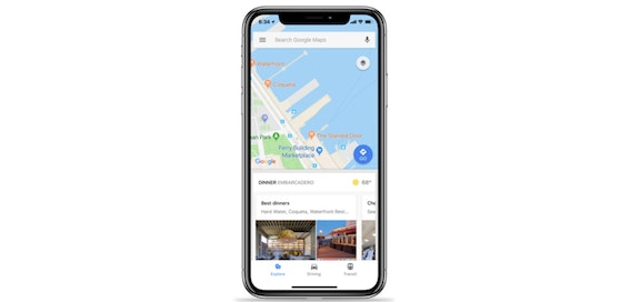 Google Maps for iOS gets new traffic and public transport features