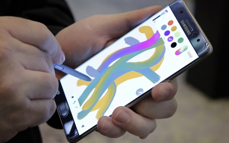samsung galaxy note 7 colours s-pen